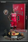 Enterbay - NBA Collection: Derrick Rose 1/6 Scale Figure