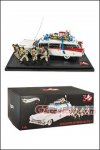 Hot Wheels - Elite Cult Classics 1:18 Scale Ecto-1 30th Anniversary With Figures