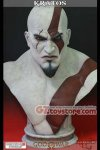 Gaming Heads - God of War Kratos Life Size Bust