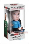Funko - The Big Bang Theory : Star Trek Sheldon Wacky Wobbler Bobble Head