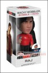 Funko - The Big Bang Theory : Star Trek Raj Wacky Wobbler Bobble Head