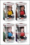 Funko - The Big Bang Theory : Star Trek Set of 4 Wacky Wobbler Bobble Head