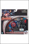 "Hasbro - Avengers Age of Ultron 3.75"" Captain America & Black Widow 2-Pack Exclusive"