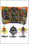 Mattel - Batman Classic TV Series Batman, Robin and Batgirl Figure 3-Pack (TRU Exclusive)