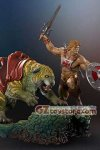 Pop Culture Shock - Masters of the Universe: He-Man & Battlecat Exclusive Version 1:4 Scale Statue