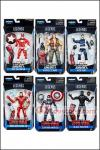 Hasbro - Captain America Marvel Legends 2016 Series 2 (Giant Man Series) - Set of 6