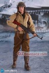 "DID - A80113 - 2nd Armored Division ""Hell on Wheels"": SSGT Donald 1/6 Scale Figure"