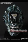 CoolProps - Alien Warrior (Blue Edition) Life Size Head Prop Replica