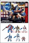 Hasbro - Transformers Generations Combiner Wars Superion Box Set