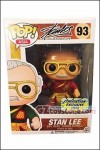 Funko - POP! Asia - Stan Lee as Guan Yu Red Uniform Vinyl Figure Convention Exclusive 2016