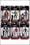 Hasbro - Spider-man Marvel Legends 2016 Series 2 (Space Venom Series) - Set of 6