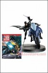 Eaglemoss - DC Superhero Best of Figurine with Collector Magazine Special #1 - Batman Batcycle