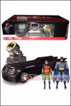 DC Collectibles - Batman Animated Series - Deluxe Batmobile with Figures and Batsignal