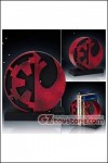Gentle Giant - Star Wars Imperial / Rebel Logo Bookends