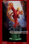 Pop Culture Shock - Street Fighter IV - Ken with Dragon Flame 1/4 Scale Statue