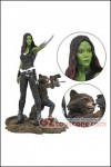 Diamond Select Toys - Marvel Gallery Guardians of the Galaxy vol.2 - Gamora and Rocket Racoon PVC St