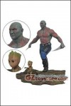 Diamond Select Toys - Marvel Gallery Guardians of the Galaxy vol.2 - Drax and Baby Groot PVC Statue