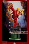 Pop Culture Shock - Street Fighter IV - Ken with Dragon Flame Classic Exclusive 1/4 Scale Statue