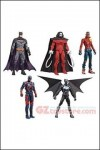 Mattel - DC Comics Multiverse 6-Inch Wave 6 (Mech Bat-Suit) - Set of 5
