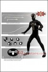 Mezco - Marvel Spider-Man Black Suit One:12 Collective Action Figure PX Exclusive