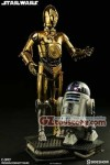 Sideshow Collectibles - Star Wars R2-D2 and C-3PO Premium Format Figure - Set of 2