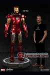 Sideshow Collectibles - Iron Man Mark VII Life Size Figure