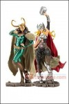 Kotobukiya - Marvel Thor and Loki Bishoujo Statue - Set of 2