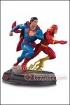 DC Collectibles - DC Gallery - Superman vs Flash Racing Statue