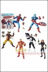 Hasbro - Marvel Legends Vintage Series Action Figure - Set of 6