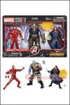 Hasbro - Marvel Legends Cinematic Universe 10th Anniversary - Iron Man Thanos Dr Strange 3-Pack
