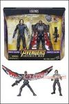 Hasbro - Marvel Legends Avengers Infinity War - Winter Soldier and Falcon 2-Pack Exclusive