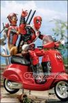 Hasbro - Ultimate Marvel Legends Deadpool on Scooter