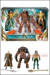 Mattel - DC Aquaman Movie - Aquaman vs Brine King and Orm Action Figure 3-Pack