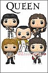 Funko - POP! Rocks - Queen - Set of 5 Vinyl Figure