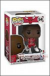 Funko - POP! NBA - Bulls Michael Jordan (Red Jersey #23) Vinyl Figure