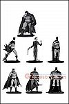 DC Collectibles - Batman Black & White Mini PVC Figure Box Set #3