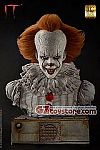 Elite Creature Collectibles - IT (2017 Movie) - Pennywise 1:1 Scale Bust