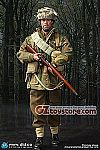 DID - WWII British 1st Airborne Division Red Devils - Sergeant Charlie 1/6 Scale Figure