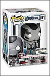 Funko - POP! Avengers Endgame - War Machine (Team Suit) Vinyl Figure (Amazon Exclusive)