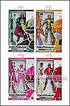 Hasbro - Power Rangers Lightning Collection Wave 2 - Set of 4