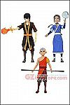 Diamond Select Toys - Avatar The Last Airbender Series 1 - Set of 3