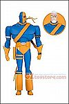 DC Collectibles - Batman Animated The Adventures Continue Deathstroke 7-Inch Action Figure