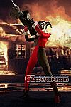 Mezco - Harley Quinn Deluxe Edition One:12 Collective Action Figure