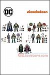 DC Collectibles - Batman vs TMNT - Set of 5 2-Pack Exclusive