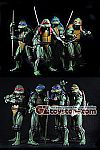 NECA - Teenage Mutant Ninja Turtles (1990) 1/4 Scale Action Figure - Set of 4
