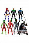 Mattel - DC Comics Multiverse 6-Inch Wave 11 (Ninja Batman) - Set of 6
