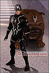 Mezco - Black Bolt and Lockjaw One:12 Collective Action Figure