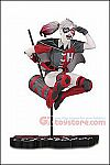 DC Collectibles - Harley Quinn Red White and Black by Guillem March 7-inch Statue