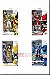Hasbro - Power Rangers Lightning Collection Wave 3 - Set of 4