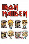 Funko - POP! Iron Maiden Vinyl Figure - Set of 4